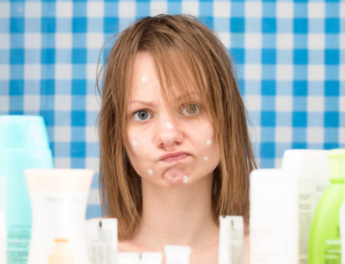 Women will apply more than 100 different toxic chemicals to her face and body every single day
