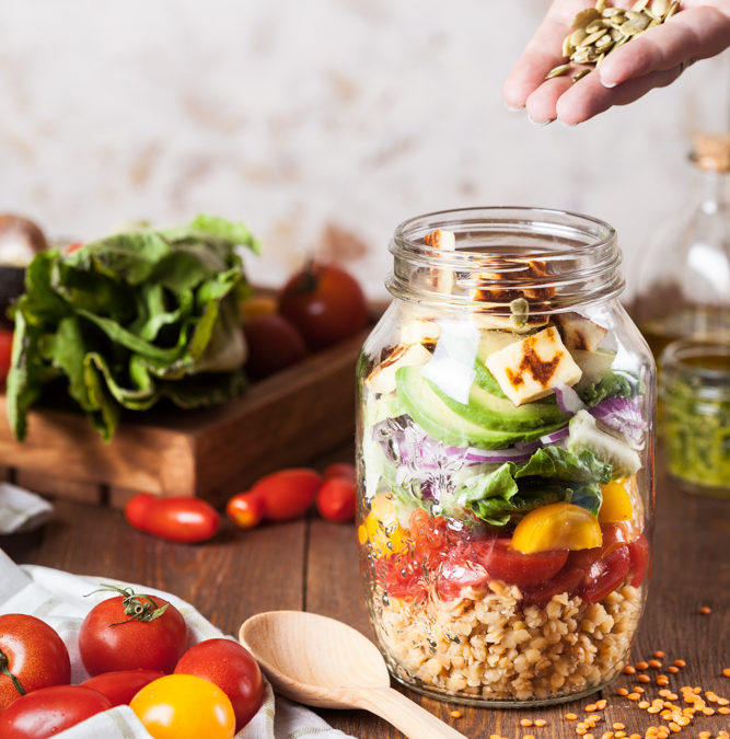 Five daily diet practices